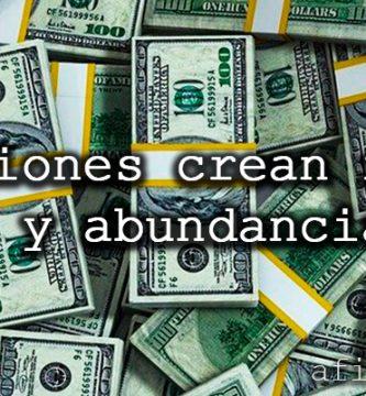 afirmaciones positivas para atraer abundancia